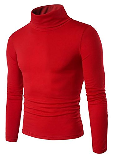 Adriat Men's Turtleneck Knitted Solid Plain Slim Fit Top Pullover Sweater supplier