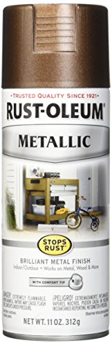 Rust-Oleum 286525 Stops Rust Vintage Metallic Spray Paint 11