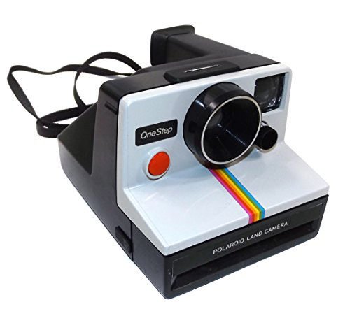Retro Vintage Polaroid OneStep SX-70 Instant Film Land Camera with Rainbow Stripe