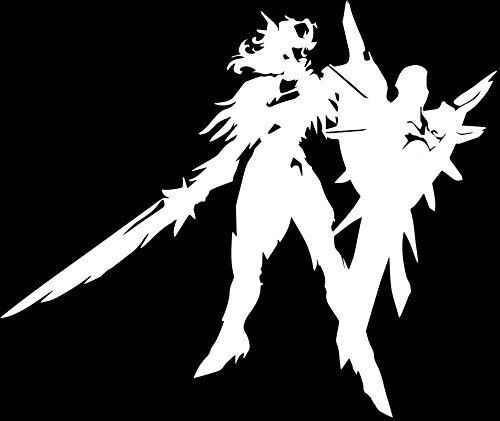 [Leona Iron Solari League Of Legends Decal Vinyl Sticker Cars Trucks Walls Laptop WHITE 5.5] (Ashe League Of Legends Cosplay Costume)