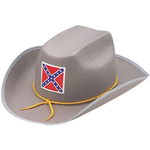 Adult Rebel Officer Costumes (Civil War Rebel Reenactment Officer Hat Size: Medium)