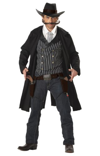 Gunfighter Wild Wild West Adult Costume By California Costumes - Large