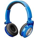JBL SYNCHROS E40BT High-Performance Wireless On-Ear Bluetooth Stereo Headphone, Blue (Certified Refurbished)
