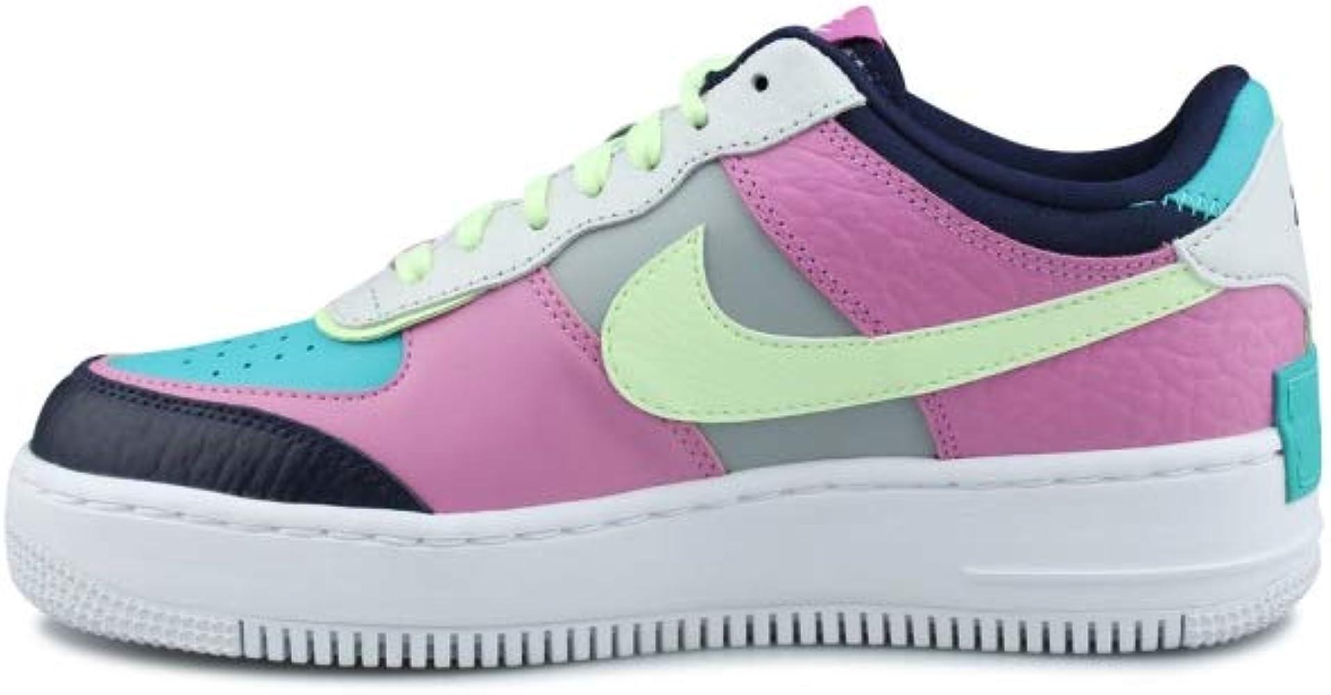 Nike W Af1 Shadow Se, Zapatilla de Baloncesto para Mujer, Lt Humo ...