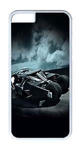 IPhone 6 Plus Case, IPhone 6 Plus Cases Hard White Case Batcar Batman Highway Art Hero Case For IPhone 6 Plus, IPhone 6 Plus PC Case