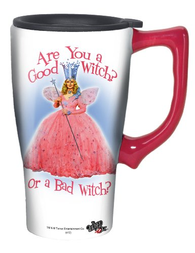 Wizard Of Oz Good Witch Travel Mug, Pink ()