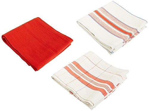 Le Creuset Kitchen Towels, Cerise (Cherry Red) (Le Creuset Kitchen Towel)