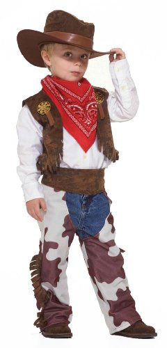 Forum Novelties Cowboy Kid Costume, Toddler (Old Western Hats)