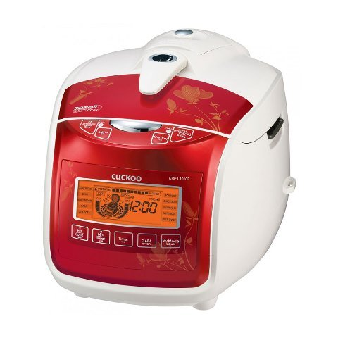 Cuckoo CRP-L1010FR 10 Cup Electric Pressure Rice Cooker44; Red – 120V