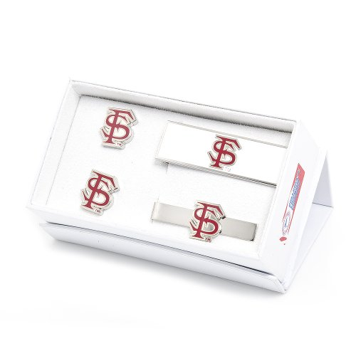 NCAA Florida State Seminoles Gift Set, 3-Piece by Cufflinks