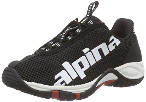 y Trekking Zapatillas 680267 Alpina Senderismo Negro caña Adulto Media de de Unisex Negro qw6ItCx