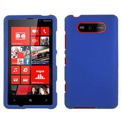 Nokia Lumia 820 Case, CoverON [Snap Fit Series] Hard Rubberized Slim Protective Phone Cover Case for Nokia Lumia 820 - -
