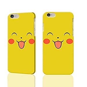 """Cute And Lovely Pikachu 3D Rough iphone Plus 6 -5.5 inches Case Skin, fashion design image custom iPhone 6 Plus - 5.5 inches , durable iphone 6 hard 3D case cover for iphone 6 (5.5""""), Case New Design By Codystore"""
