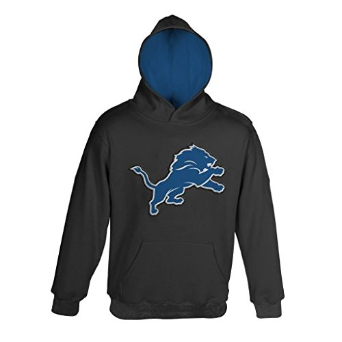 uk availability 1c2fe da25d NFL Detroit Lions Youth Size 8-20 Pullover Hoodie