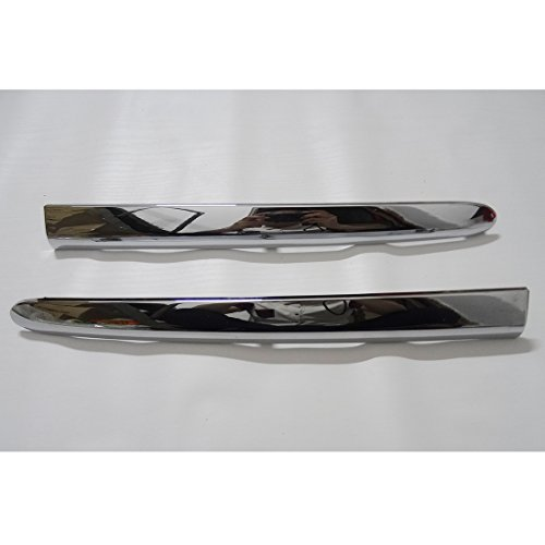 Shangyi Trunk Lower Saddlebag Molding Motorcycle 2 Pieces Pair ABS Chrome Trims Strip Fairing Cover For Honda GL1800 Goldwing 2006-2011 2007 2008 2009 2010 New