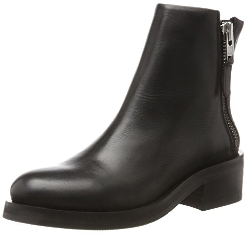 Royal RepubliQ District Zip Boot, Stivali Donna Nero (Nero)
