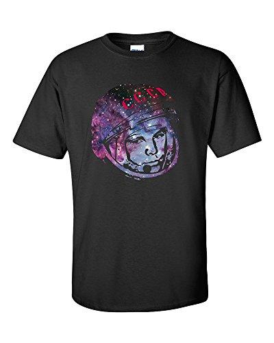 Cosmonaut Yuri Gagarin Nebula T-Shirt