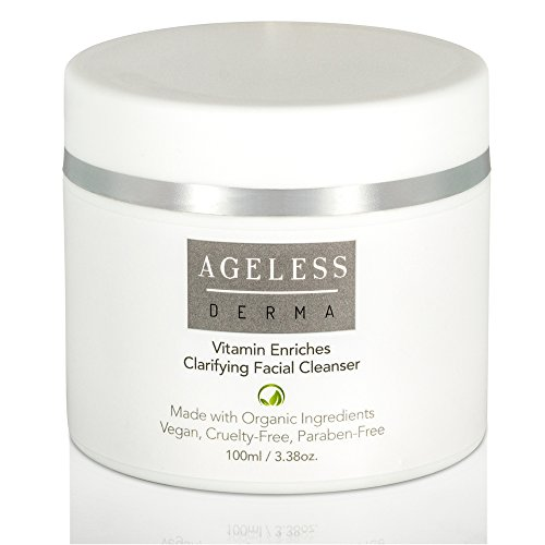 Ageless Derma Exfoliating Natural Face Wash by Dr. Mostamand is an Organic Facial Cleanser to Make Your Skin Glowing