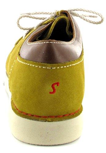 Sioux, Scarpe stringate uomo multicolore Senf