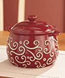 Burgundy Soup Tureen