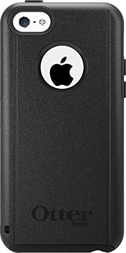OTTERBOX COMMUTER SERIES Case for iPhone 5c - Retail Packaging - BLACK (Otterbox Iphone 5c Cases)