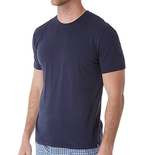 Izod Jersey Top - IZOD Men's Jersey Knit Sleep Shirt, Peacoat, X-Large