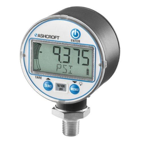 Ashcroft Digital Pressure Gauge w/ Backlight, 0-10000 psi