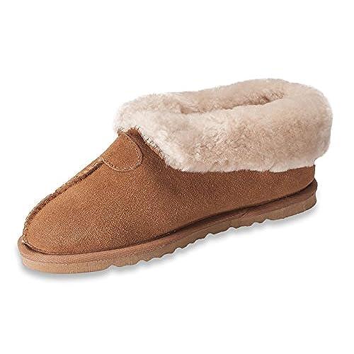 7b3ee897d Nordvek Womens Genuine Sheepskin Slipper Boots With Hard Sole # 413-100 hot  sale 2017