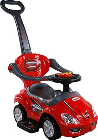 Baby Car ARTI 382 Mega Car Deluxe Red - Coche para bebe - Coches para ninos - Ride-on: Amazon.es: Juguetes y juegos