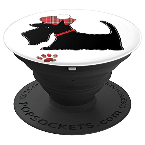 Black Scottish Terrier Dog Lovers Cute - PopSockets Grip and Stand for Phones and - Terrier Scottish Iphone