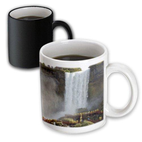 3dRose Mug Canada, Ontario, Niagara Falls. Walking the falls -CN08 LSE0002 - Lynn Seldon (mug_76091_3) - 11oz - Transforming, - Ontario Niagara Falls Outlet