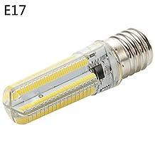 Dimmable E14/G9/G4/E17/E12/BA15D/E11 10W 152X3014SMD 800LM 3000K/6000K Warm White/White Corn Bulb (AC110-130/220-240V) ( Beam Angle : 360° , Connector : E17-Warm White-220V )