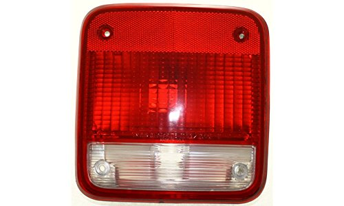 Evan-Fischer EVA15672052231 Tail Light for Chevrolet GMC Full Size Van 85-96 LH Lens and Housing Left Side Replaces Partslink# GM2800101