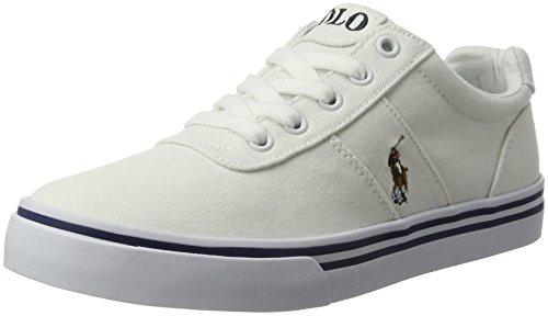 w pp Weiß Jungen Hanford Twill White Ralph Sneaker multi Lauren w0xfq41U