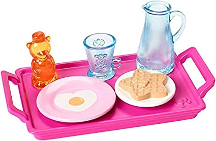 6 Barbie Doll Kitchen Spa /& Puppy Accessory Pack Cooking Spaghetti Baking Packs