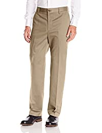 Men's Classic Fit Signature Khaki Pants D3