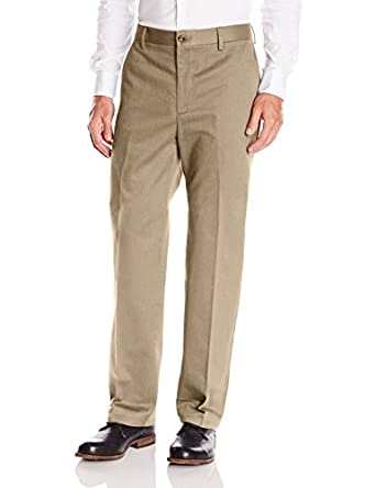 Amazon.com: Dockers Men's Classic Fit Signature Khaki Pant - Flat ...