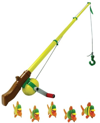Ertl John Deere Electronic Fishing Pole