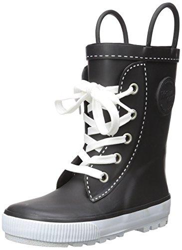Western Chief Baby Kids' Waterproof Sneaker Rain Boot, Black, 10 M US Toddler