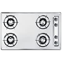 Summit 30 Inch Wide Gas Cooktop