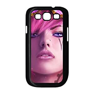vi the piltover enforcer league of legends Samsung Galaxy S3 9300 Cell Phone Case Blackten-087678
