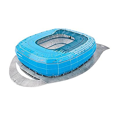 Giochi Preziosi 70022121 Puzzle 3d Allianz Arena Di Monaco Blu Blau