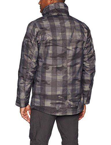 Giacca Degli Camo Della Whirlibird Columbia Abbigliamento Sportivo Interscambio Di Uomini Nero RqArRUSw