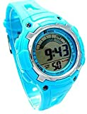 Ravel Boys/Kids Digital LCD Sports Watch - Gift Boxed - Multi Functional- 14-20cm Strap - 3ATM