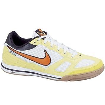 421f7a2f41e5 Nike Men s Air Gato Indoor Football Shoes 324784 187 Colour   White Orange Lime Black  Amazon.co.uk  Sports   Outdoors