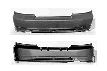 Primered Rear Bumper Cover Fits 99-03 Mitsubishi Galant MR465774 MI1100254