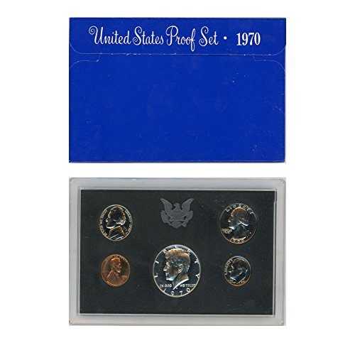 1970 S US Proof Set Original Government Packaging