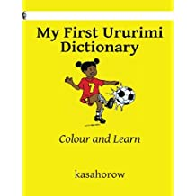 My First Ururimi Dictionary: Colour and Learn