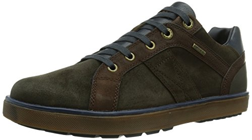 Geox U MATTIAS B ABX - Botas de cuero para hombre marrón - Braun (CHESTNUT/LT BROWNC6850)