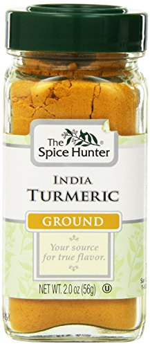 Spice Hunter Spices, Ground Turmeric, 2 Ounce (Pack of 6)